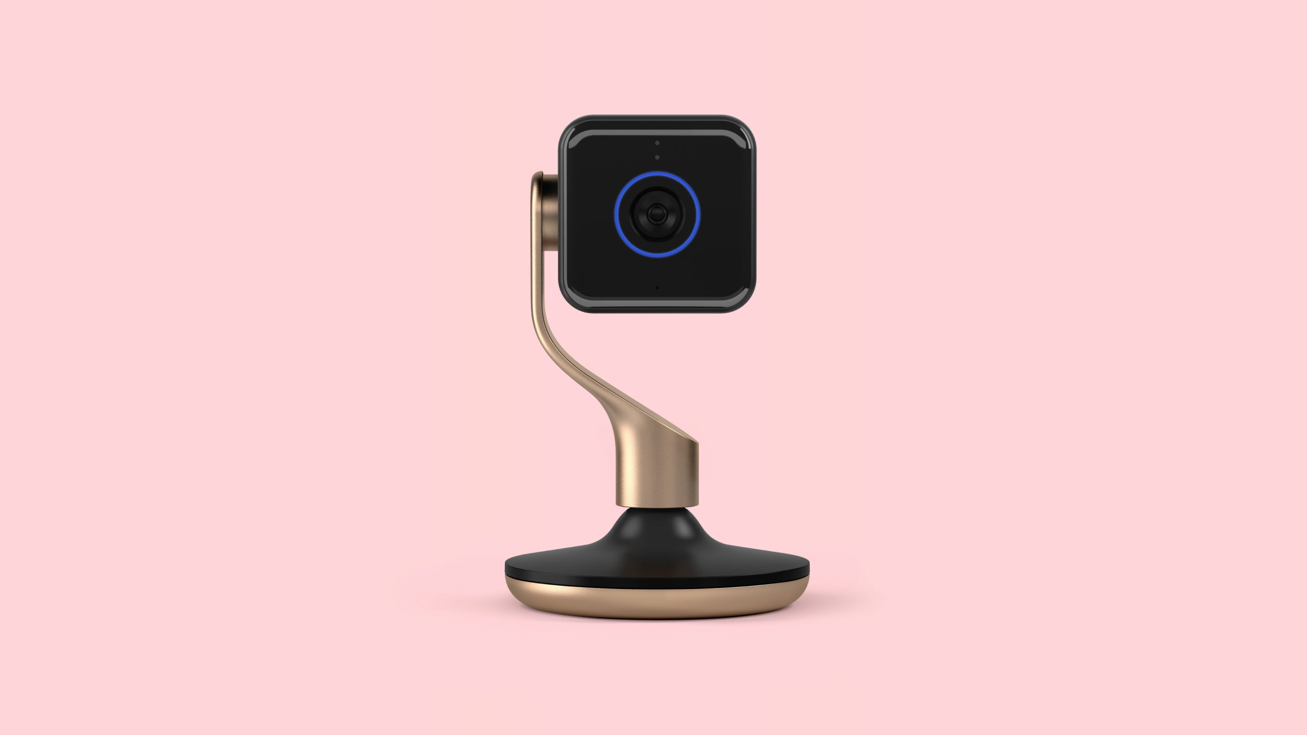 Hive-View-Camera-Black-Front